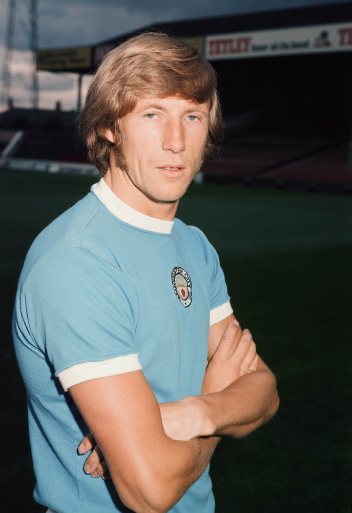 Winston's icon in The Dustbinmen - Manchester City midfielder Colin Bell, January 1970