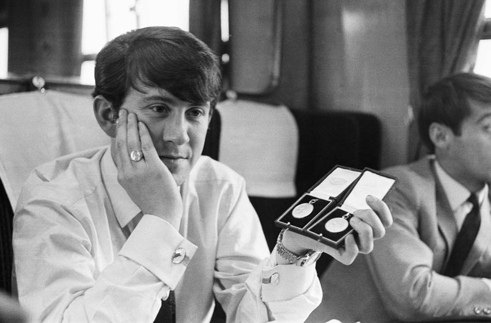 A gloomy Howard Kendall contemplates his runners-up medal after losing the 1968 FA Cup final