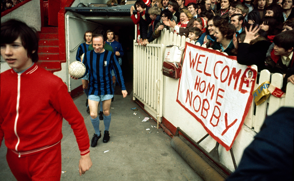 Nobby gets hero's welcome…