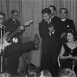 Cliff Richard and the Shadows with Princess Margaret in the front row, March 1962