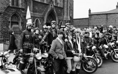 Hell's Angels turn up at a Wigan Church…