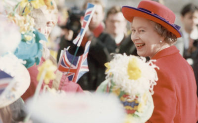 The Queen visits Stockport…