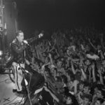 Frankie Goes to Washington! Holly Johnson on stage during the US tour, November 1984