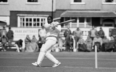 Viv Richards Delights Spectators at Rishton Cricket Club