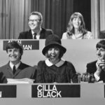 Fourmost singer Billy Hatton on the National Beat Group competition panel, September 1964