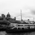 The Royal Iris moored up on the Mersey, August 1980