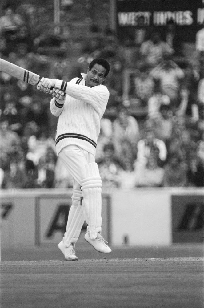 Gary Sobers cuts loose for the West Indies, July 1973