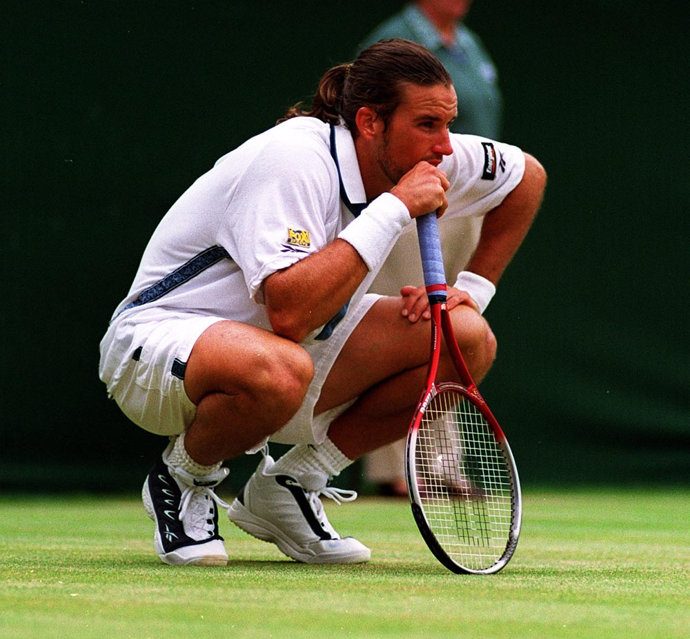 Australian Pat Rafter, who won the Manchester Open in 1994