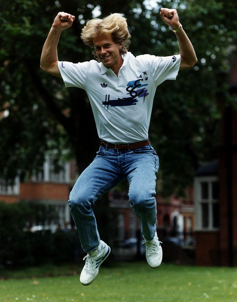 Stefan Edberg, winner at the Northern Lawn Tennis Club in 1987 and 1988