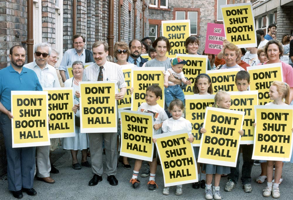 Campaigners bid to save Booth Hall Children's Hospital