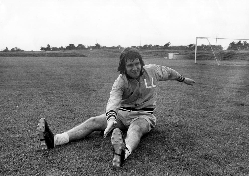 One that got away – Larry Lloyd in training for new club Coventry City, August 1974