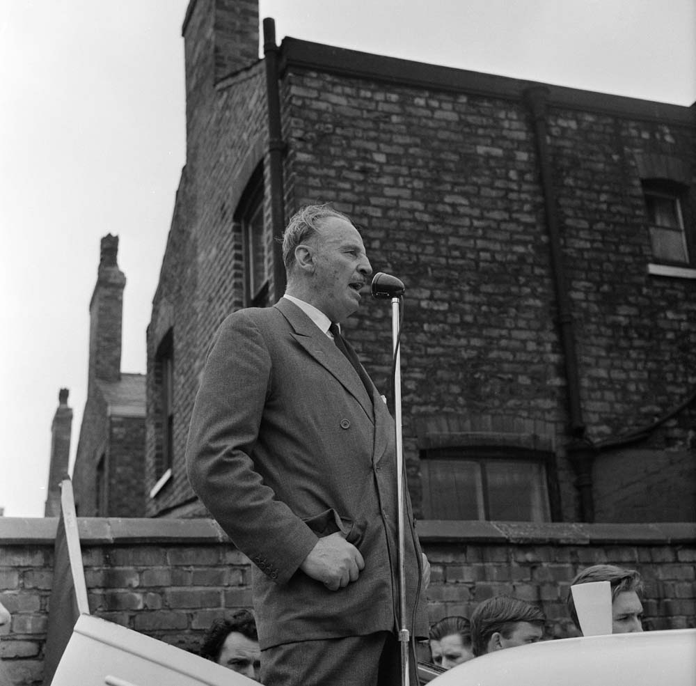 Oswald Mosley March 1962