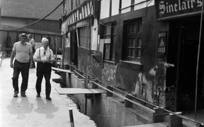 Engineers prepare to save historic Old Shambles from bulldozers