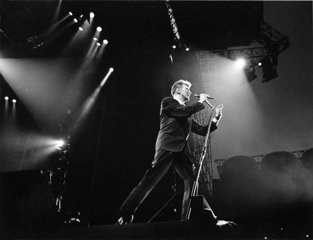 Bowie belts out classic hits at Maine Road