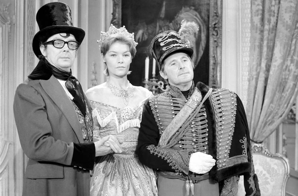 Glenda Jackson as Queen Victoria on the Morecambe and Wise Christmas Show, December 1972
