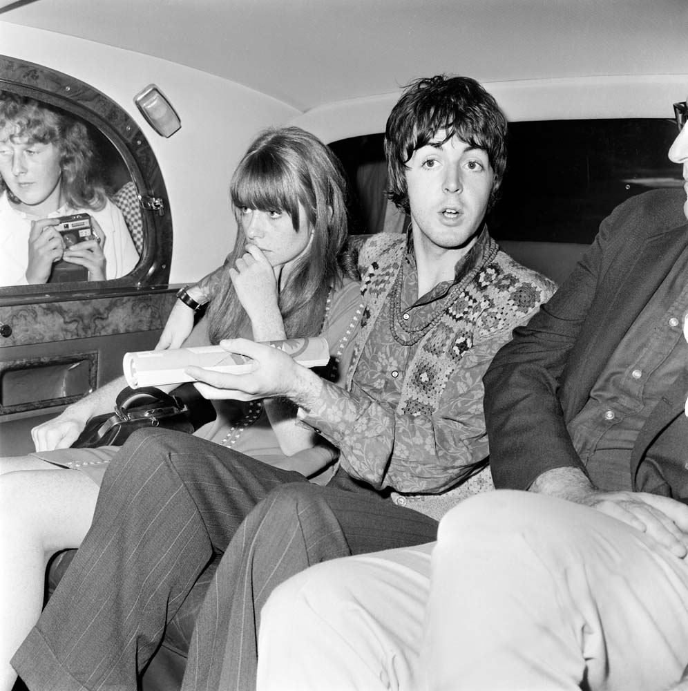 Paul McCartney and girlfriend Jane Asher hear the news of Brian Epstein's death, August 1967