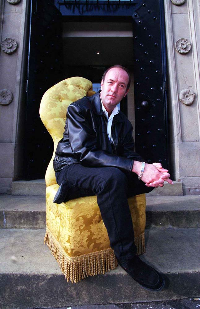 Dean Sullivan as Brookside's Jimmy Corkhill, April 1998