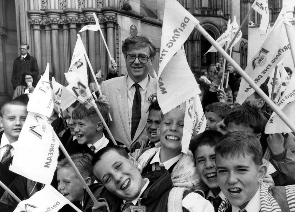 Manchester's 1996 Olympics Bid Sets off for Tokyo