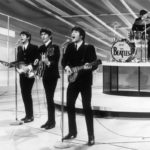 The Beatles perform on the Ed Sullivan Show, February 1964