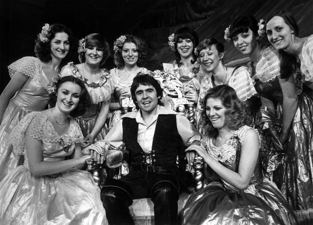 Davy Jones in pantomime at the Liverpool Empire, December 1979