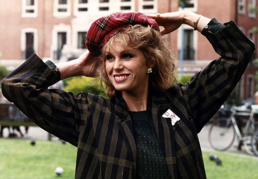 Joanna Lumley played Marjorie Majors in the film Shirley Valentine, June 1988