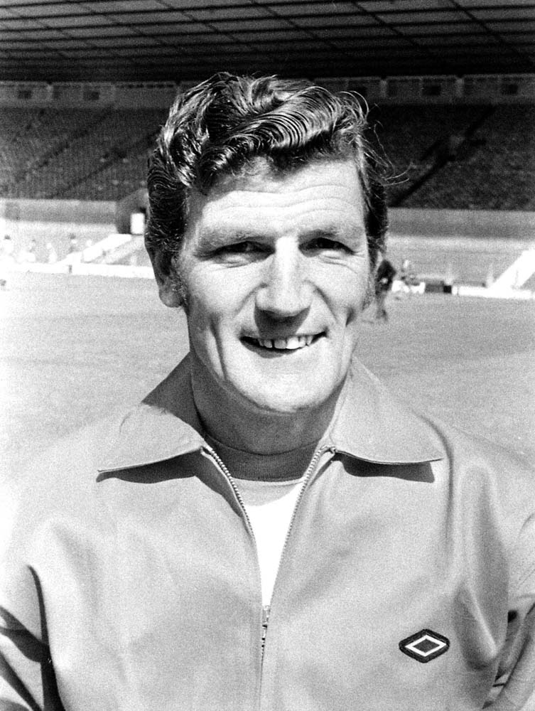 Manchester United assistant manager Malcolm Musgrove, August 1971
