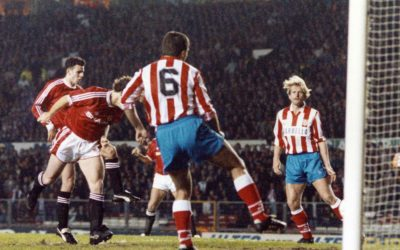 Mark Hughes scores early goal for Reds against Spanish side