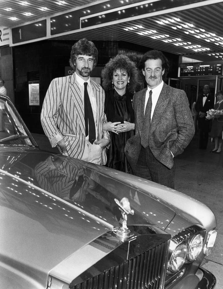 Willy Russell, Barbara Dickson and Bernard Hill reunited 10 years after the premiere of John, Paul, George, Ringo and Bert, July 1985