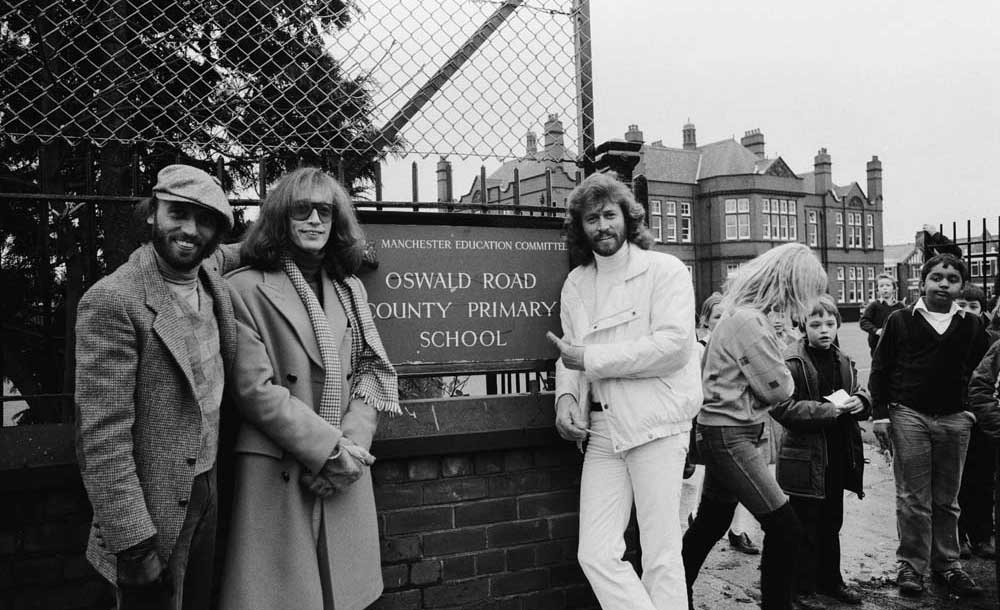 Then and Now – The Bee Gees at Oswald Road