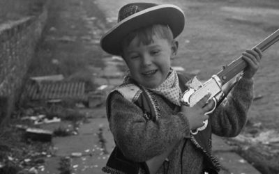 Then & Now – The Collyhurst Cowboy