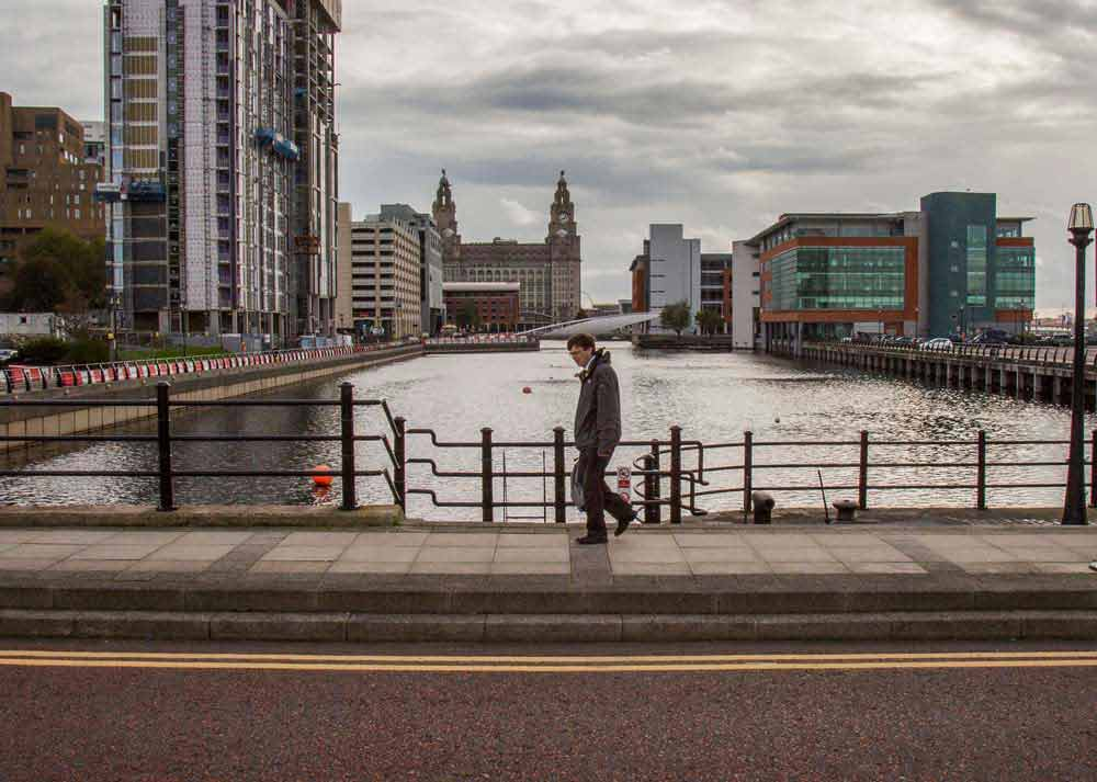 Then & Now – Prince's Dock, Liverpool