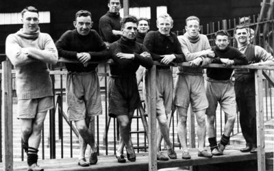 iNostalgia looks back on two legends of Merseyside football who come face to face in a veterans' match in 1950