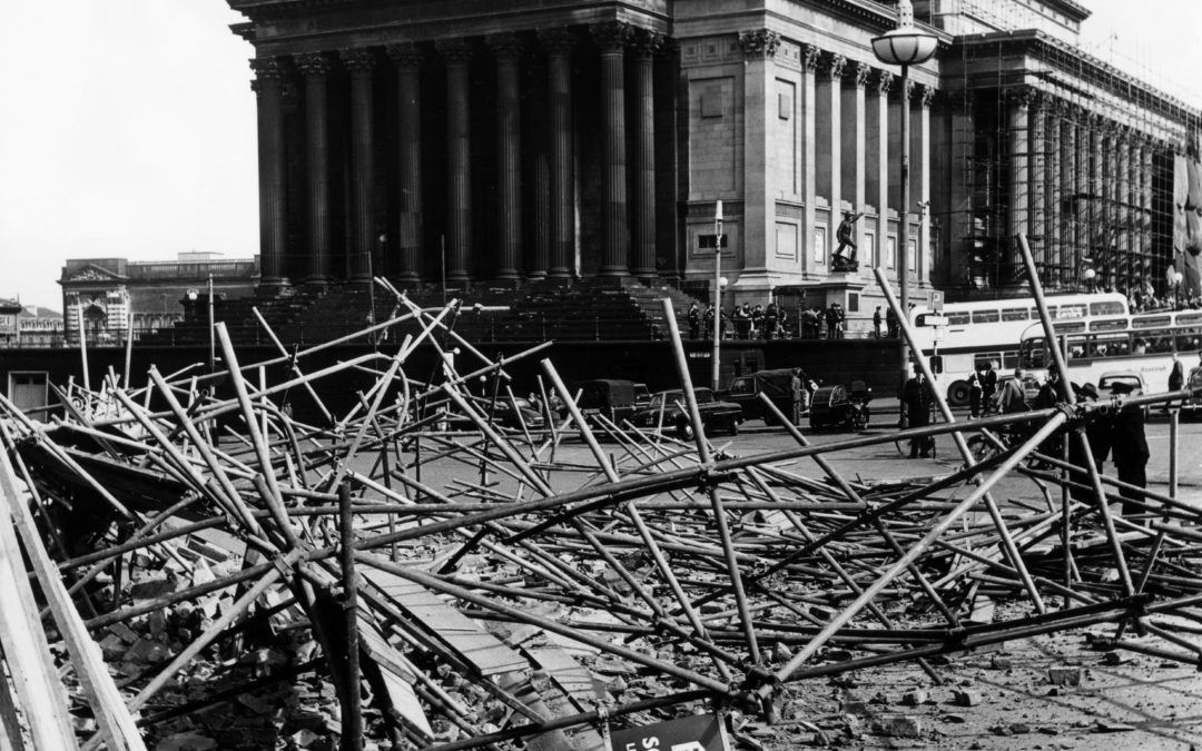 Then & Now – St George's Hall