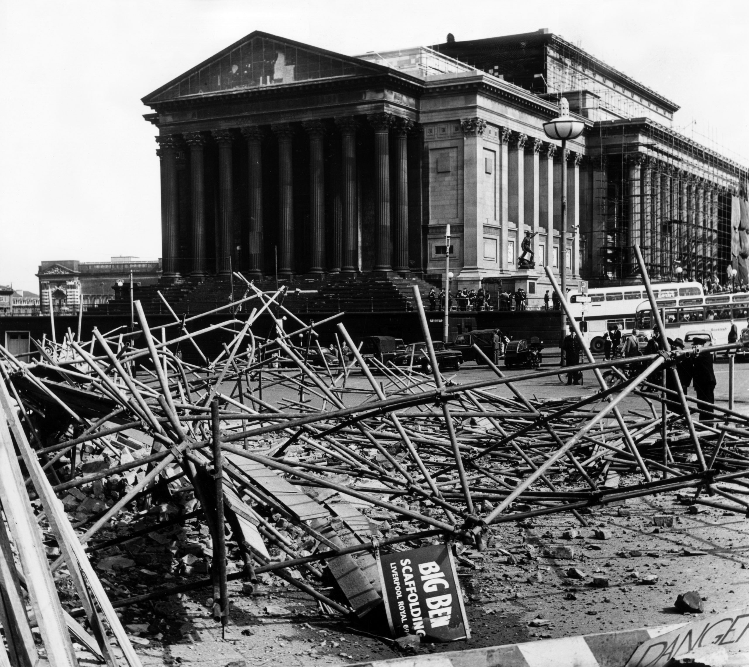 St George's Hall, Lime Street - Then