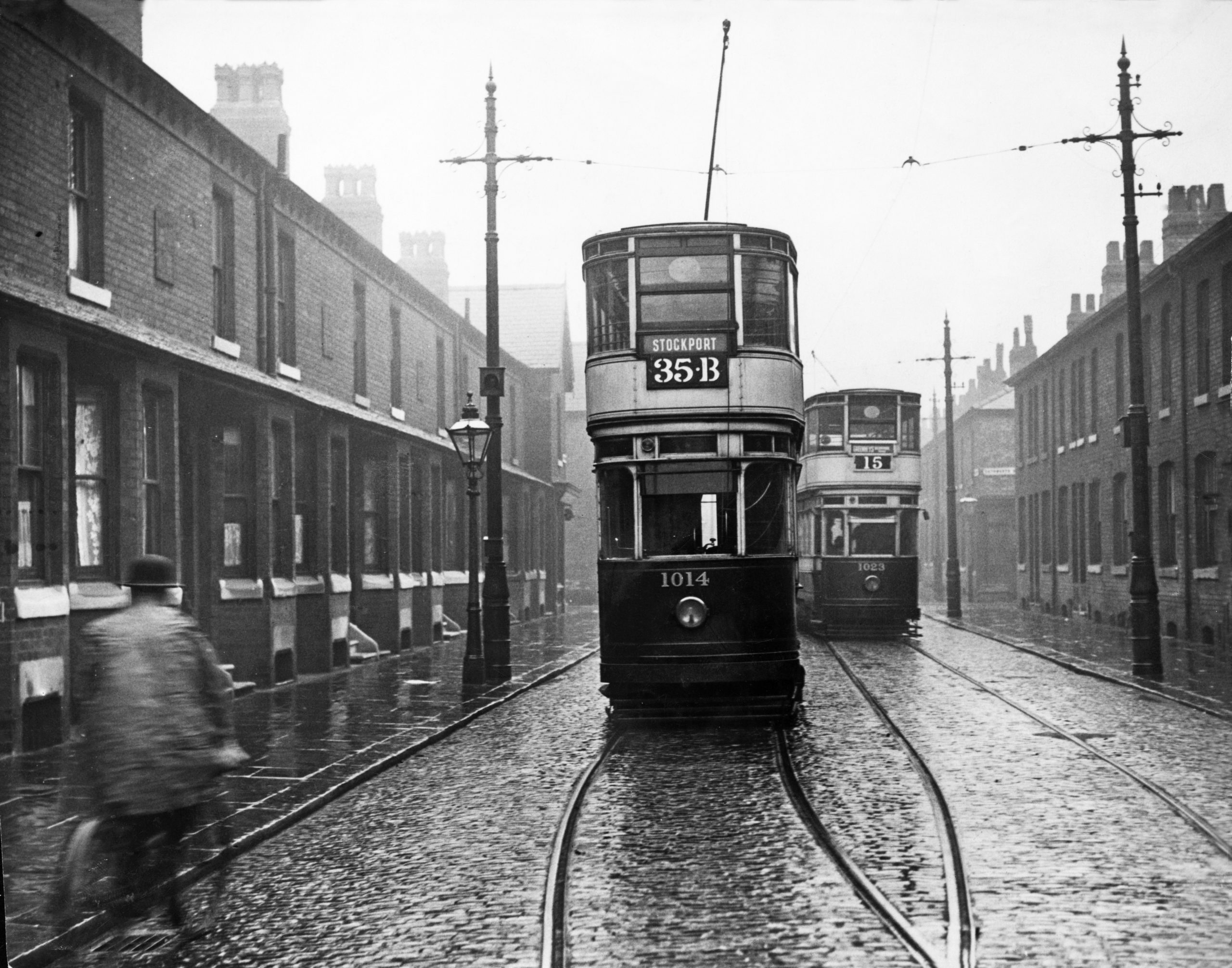 Upper Lloyd Street, Moss Side - Then