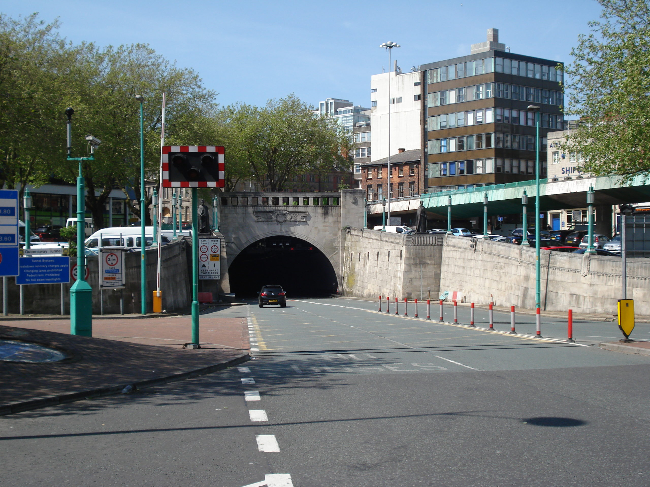 Queensway tunnel, Liverpool - Now