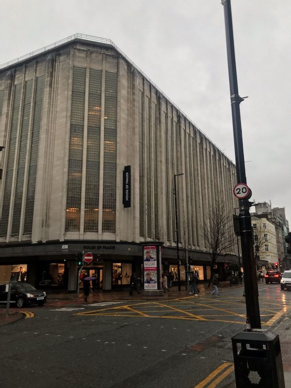 Kendals department store, Deansgate - Now