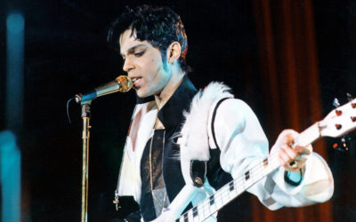 19960: : Singer-songwriter Prince is pictured in Manchester