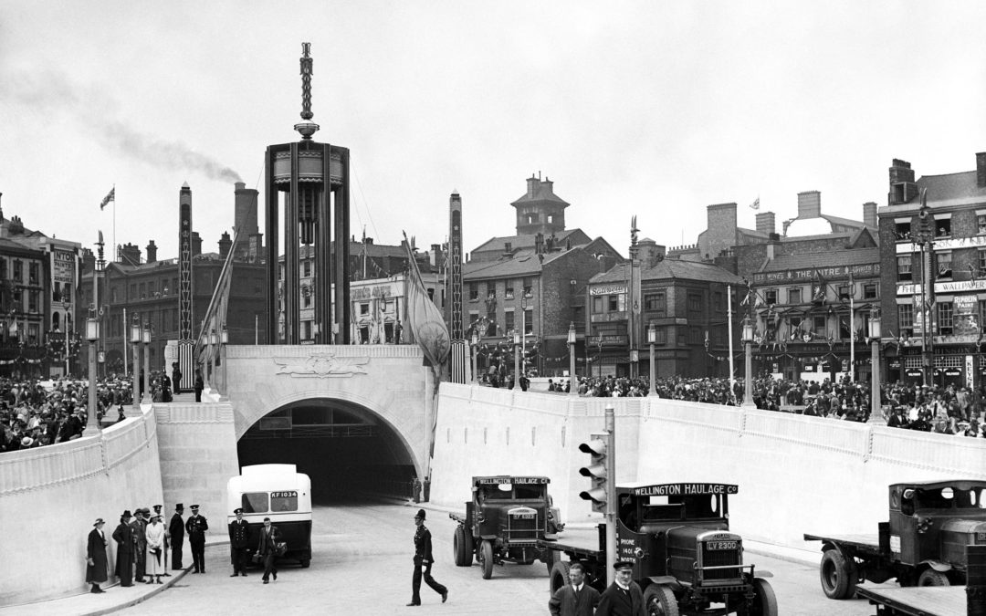 Then & Now – Queensway tunnel, Liverpool