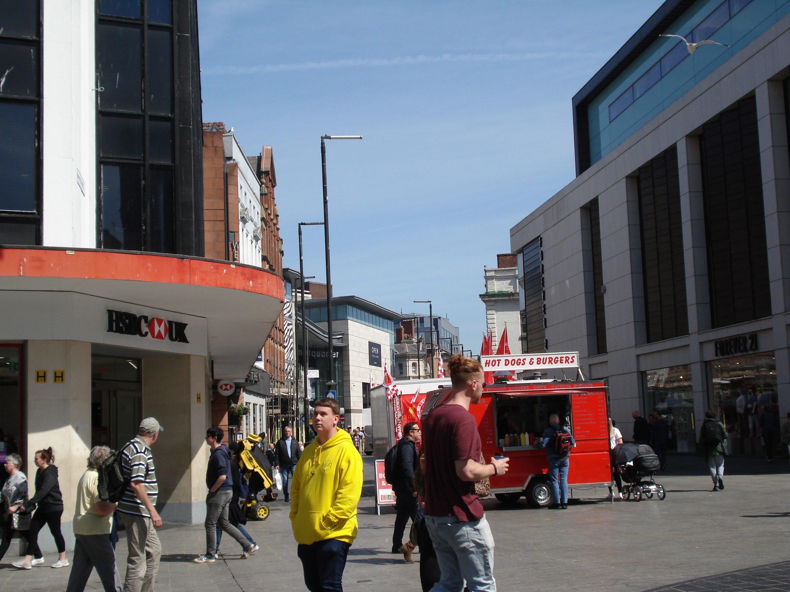 Lord Street, Liverpool - Now
