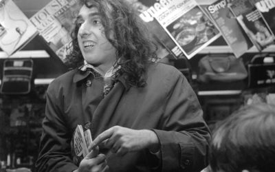 1969: Tiny Tim is mobbed by fans at Newcastle airport – Pictured