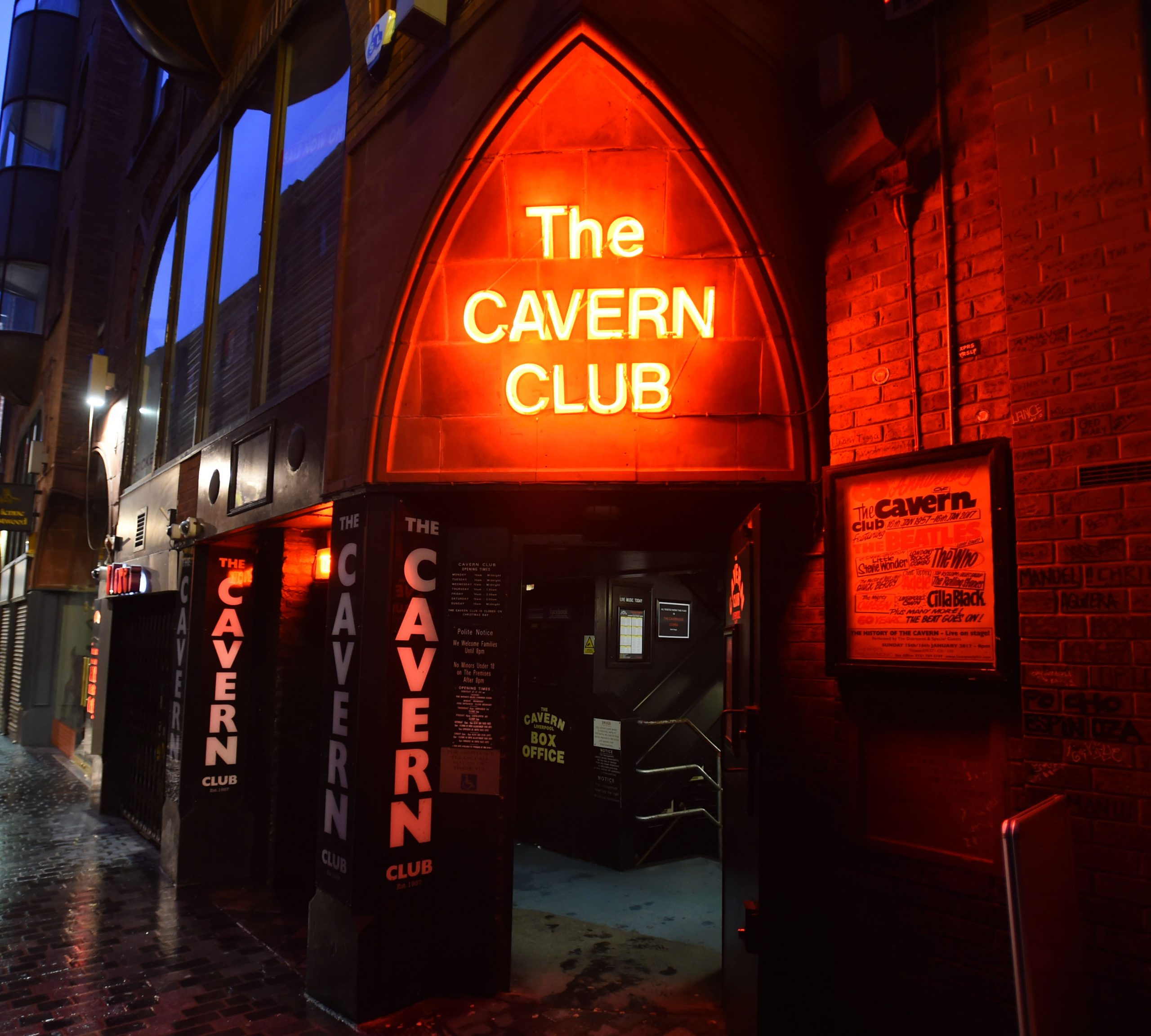 Cavern Club, Liverpool - Now