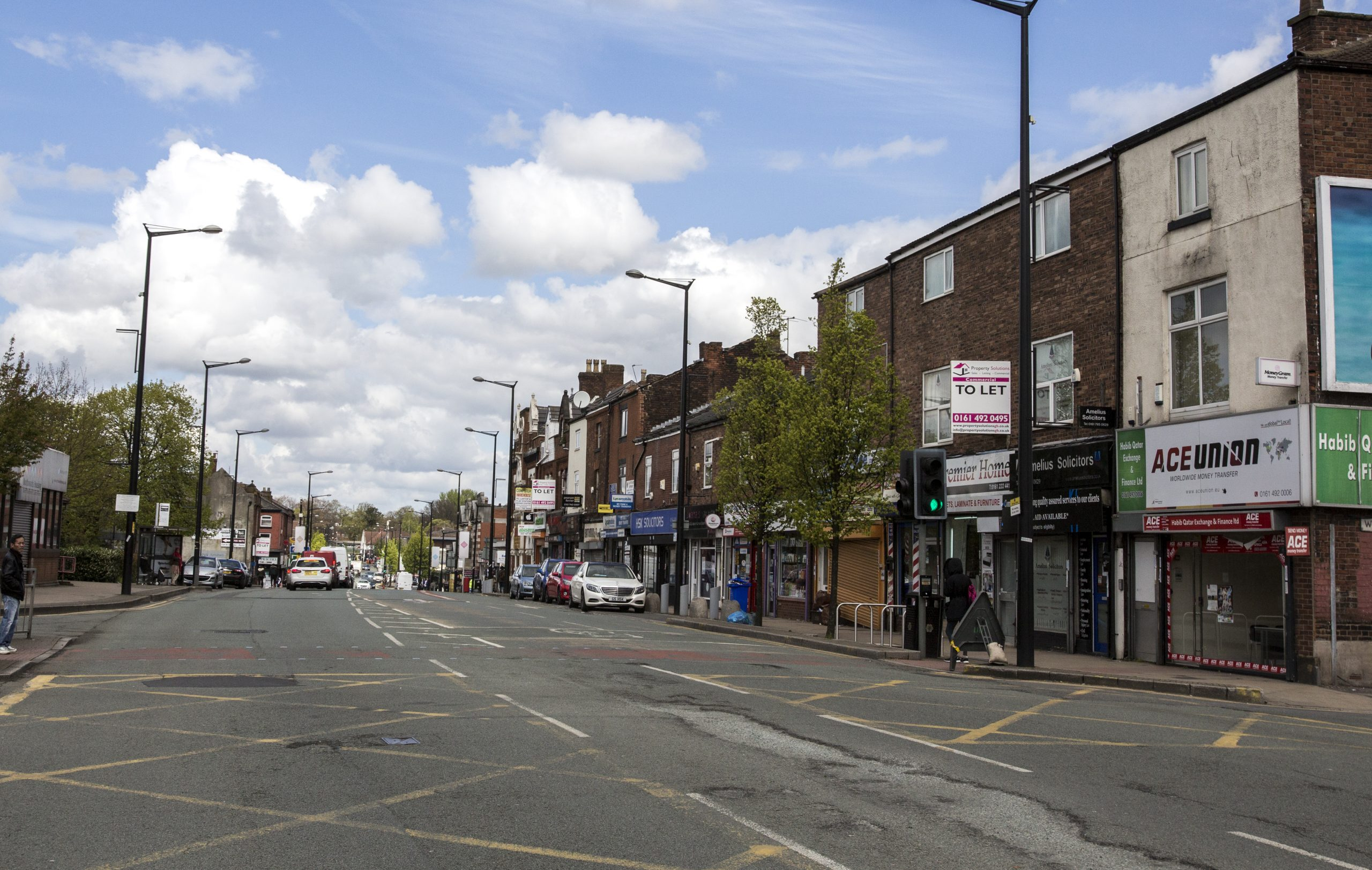 Cheetham Hill Road, Manchester - Now