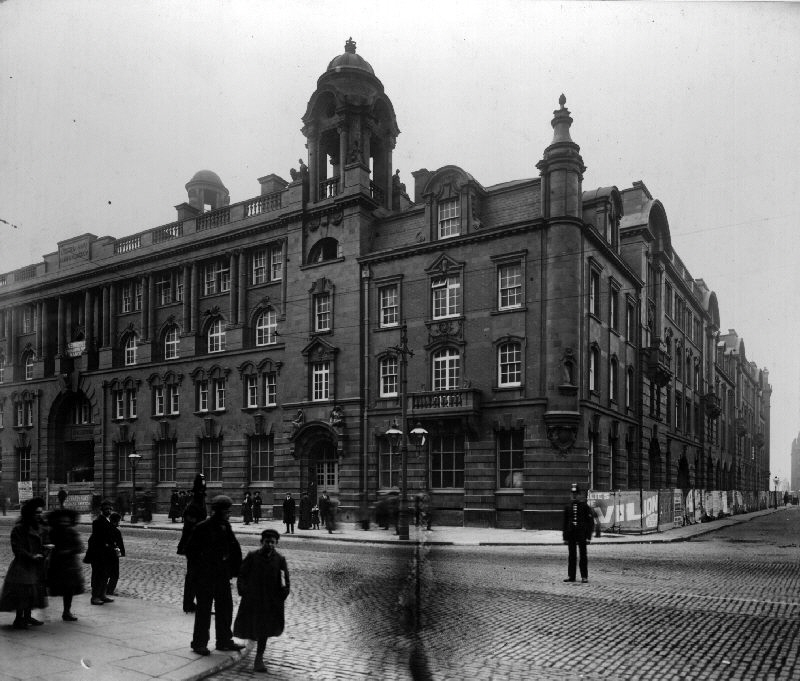 London Road Fire Station, Manchester - Then
