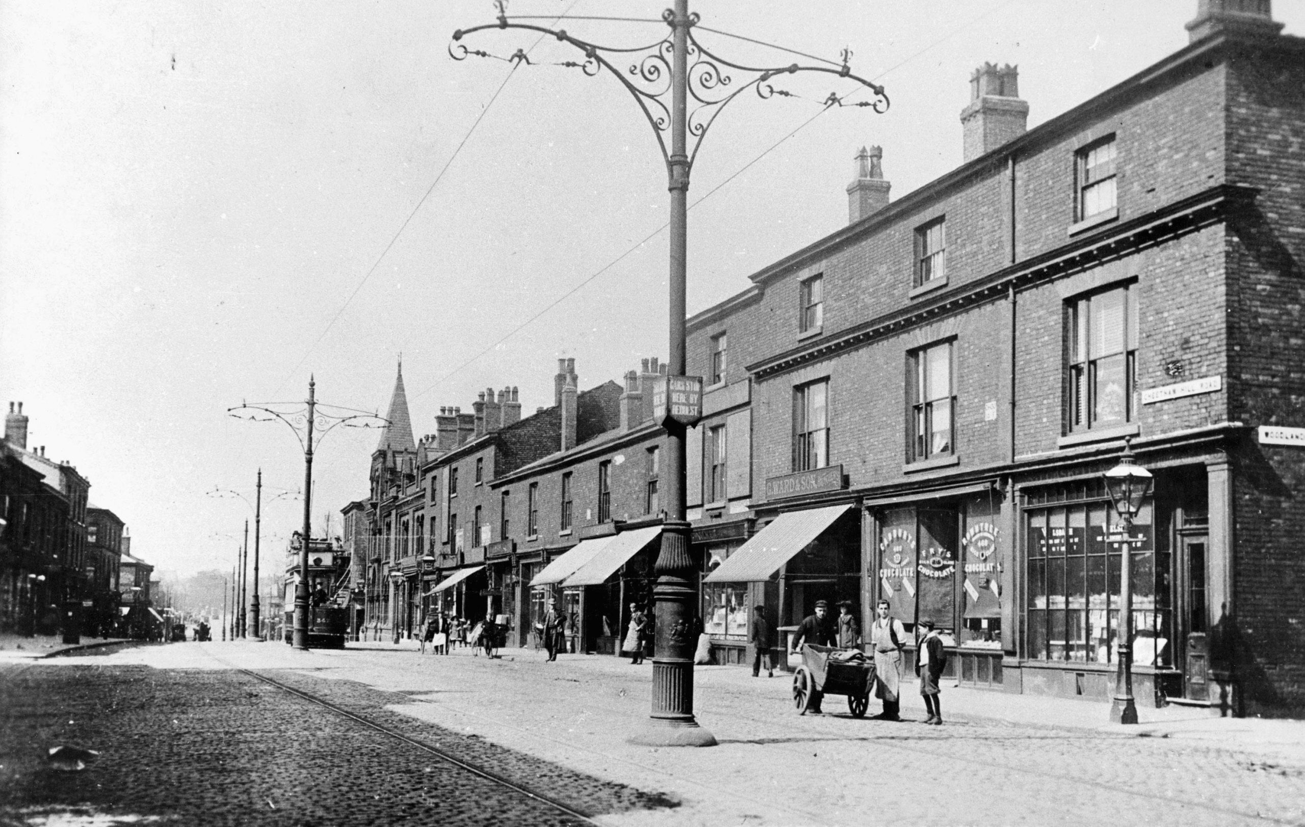 Cheetham Hill Road, Manchester - Then