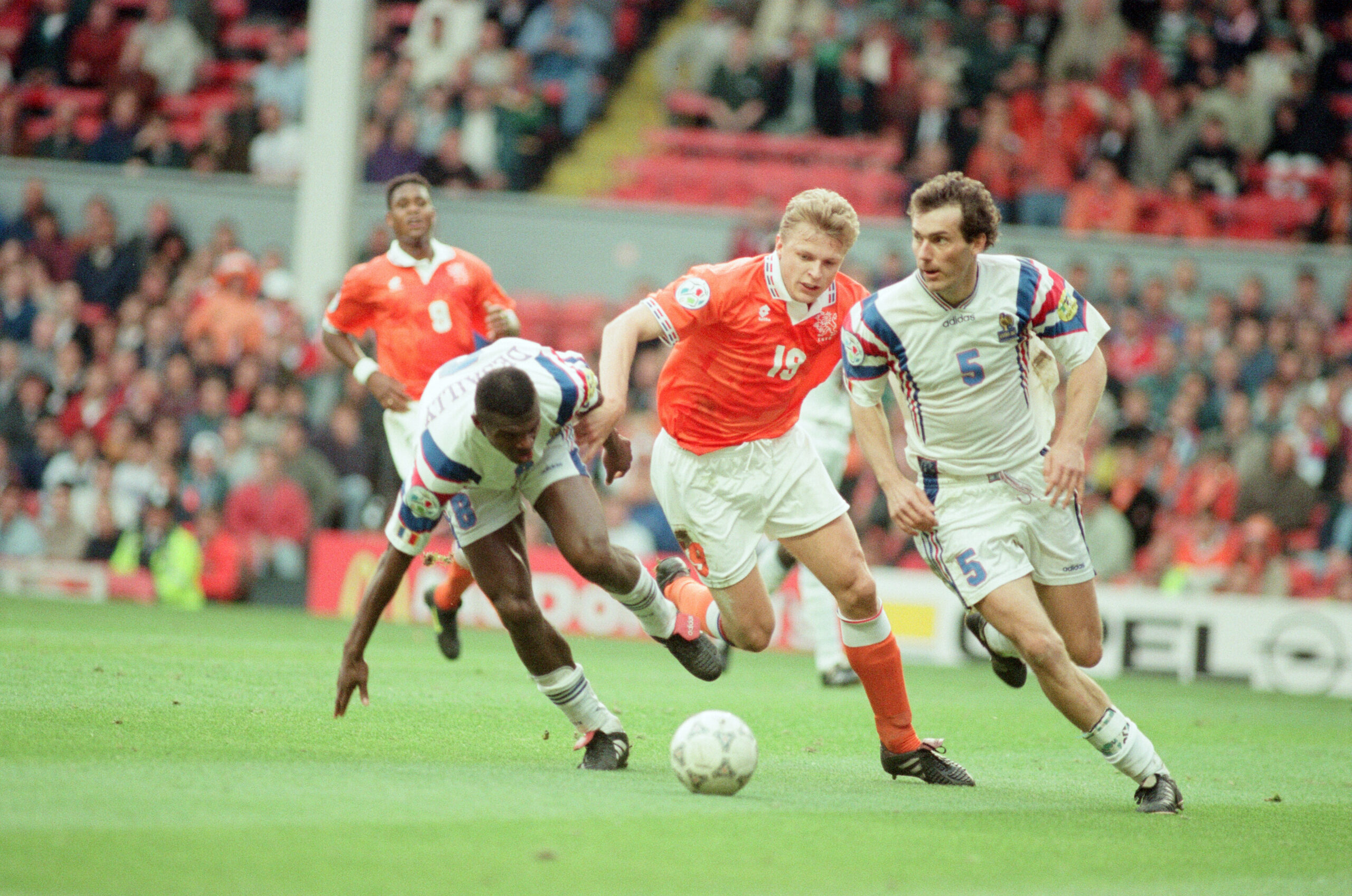 As live football returns to our TV screens, iNostalgia remembers when the UEFA Euro 96 championships came to Liverpool