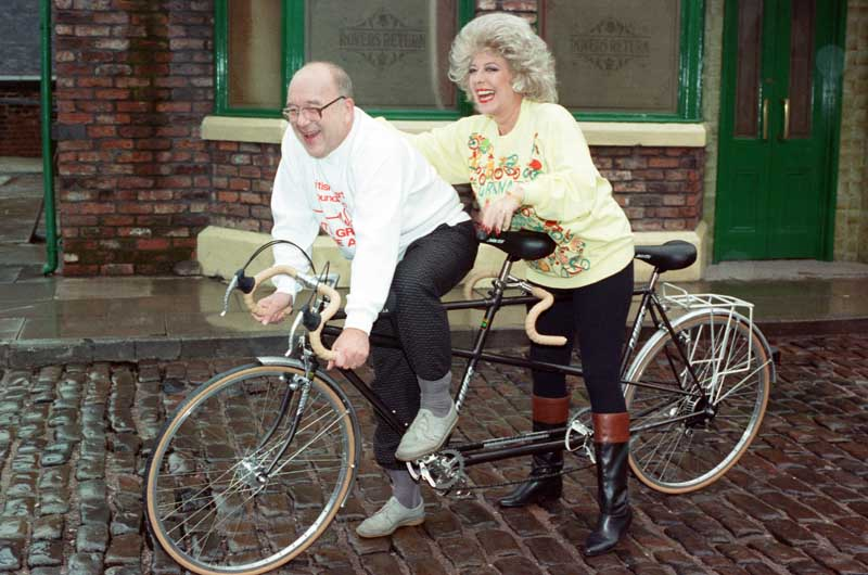 Julie Goodyear and Roy Barraclough