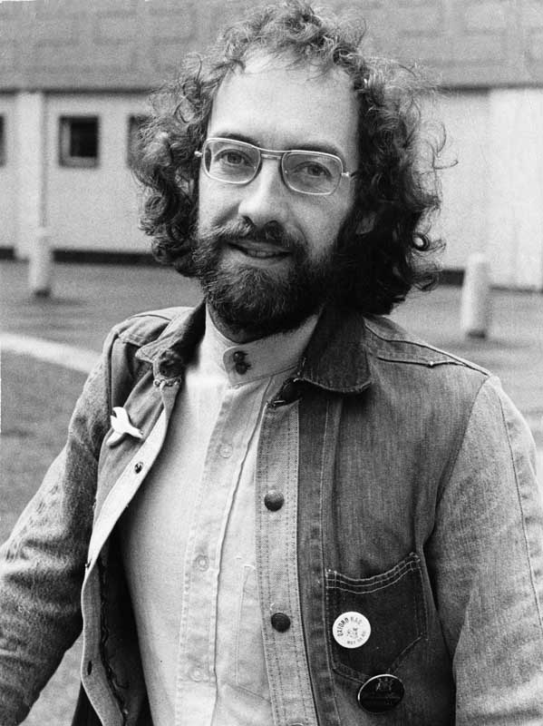 Fellow Liverpool poet and Scaffold member Roger McGough, May 1974