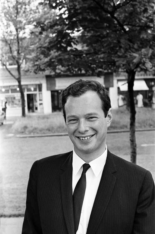 Brian Epstein, who produced the Hurricanes' second single, June 1963