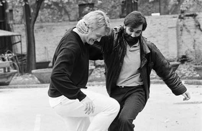 George Best and Rodney Marsh's travelling roadshow